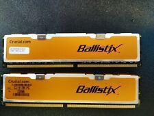 New listing 2x1Gb Crucial Ballistix Bl12864Aa804.16Fd3 Ddr2 Pc2-6400 800 mhz (2Gb)