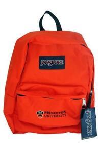 "Jansport Superbreak Collegiate ""Princeton"" classic Backpack - Black or Orange"