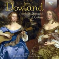 SONGS FOR SOPRANO AND GUITAR   CD NEW DOWLAND,JEAN