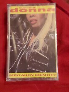 BRAND NEW! Donna Summer MISTAKEN  IDENTITY 1991 Rare OOP Cassette Tape SEALED!