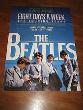 MANIFESTO,THE BEATLES EIGHT DAYS A WEEK RON HOWARD John LENNON,MUSICA,ROCK