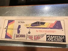 Morris The Knife R/C Airplane Kit Plans With/ Manual.