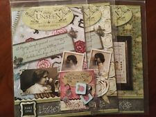 THINGS UNSEEN SAMPLER LIZZIE KATE CROSS STITCH CHART & EMBELLISMENTS 3 PARTS