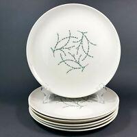 Taylor Smith Taylor Versatile Blue Twig Dinner Plates Set of 6