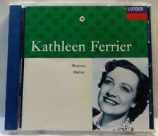 Kathleen Ferrier Sings Brahms & Mahler (CD, May-1992, Decca) (cd7348)
