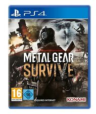 Ps4 jeu METAL GEAR Survive Incl. Survival Pack DLC article neuf