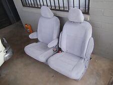 2015  2016 Toyota Sienna Gray Cloth Middle Row Bucket Seats