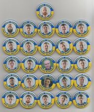 LEEDS RHINOS SUPER LEAGUE CHAMPIONS 2017 SQUAD  BADGES X 26