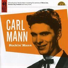 Carl Mann - Rockin Mann [New CD]