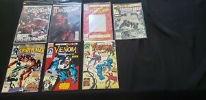 SPIDER-MAN & VENOM 7PC (FN/UP) ENDS OF THE EARTH, RESURRECTION 1986-2012