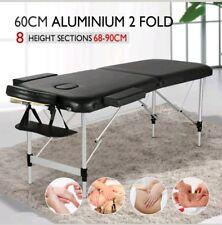 Tabella di massaggio portatile moderno letto terapia di bellezza divano 2 Sezione ALU + Borsa