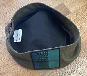 Tam O Shanter Hat, RRS Scottish ToS Scotland Bonnet, Army, Military Highland