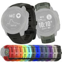 Sport Silicon Quick Release Ersatz Uhrenarmband Armband für Garmin Instinct Uhr
