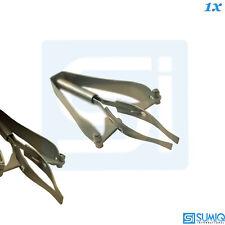 Automatic Tweezers Hair Splinter Forceps Eyebrow Stainless Steel Manicure Tool