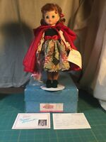 "Madame Alexander Red Riding Hood 24617 14"" Doll - made 1995 Only"