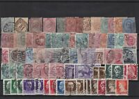 italy used stamps ref 7004