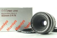 [Exc+++ Box] Mamiya Sekor C 80mm F4 N Macro Lens for M645 1000s from Japan #544