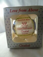 "Goebel ""Love from Above"" Christmas Ornament  Angels 1996 125th Anniversary"