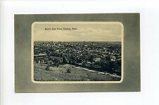 Chelsea MA Mass Birdseye View, homes, streets, antique postcard
