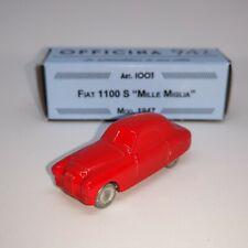 # 1:76 FIAT 1100 S MILLE MIGLIA 1947 OFFICINA 942 (ART- 1003/A) DIECAST MIB #
