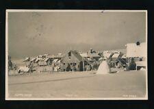 Czech Republic GOTTESGAB snow scene used 1929 RP PPC