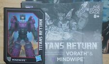 Transformers Titans Return MINDWIPE Manual Bio Card