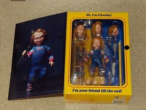 """Brand New Sealed NECA Chucky Good Guys 4"""" Ultimate Action Figure AUTHENTIC"""