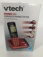 Vtech cordless phone system Cs6719-16 red Dect 6.0
