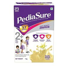 Pediasure Health and Nutrition Drink Powder for Kids Growth - 1kg (Vanilla)