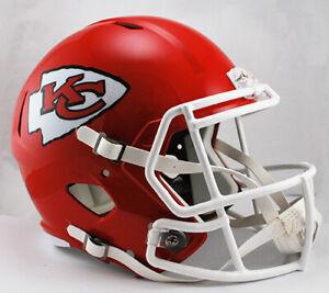 Kansas City Chiefs SPEED Riddell Full Size Replica Football Helmet