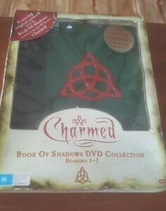 Charmed Book of Shadows DVD Collection Seasons 1-8 Limited Edition Gilded Pages