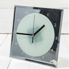 Mirrored Square Wall Clocks