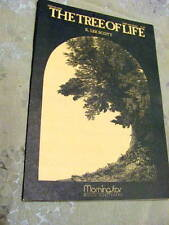 THE TREE OF LIFE - by K. Lee Scott, 4 copies of score for SATB Church Choir