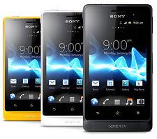 "Unlocked Original Sony Xperia Go ST27i 8GB 5MP 3.5"" WIFI Smartphone Black"