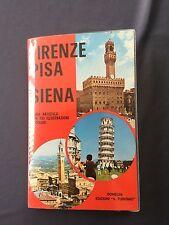 FIRENZE PISA SIENA  - Guida Turistica Artistica 100 foto colori BONECHI 1972
