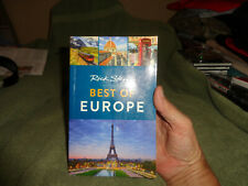 rick stevens best of europe, paperback, a little turned up at the corners