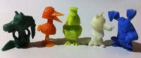 5 Rare ✱ FABELTJESKRANT ✱ Dunkin TITO Premium Figure kaugummifiguren
