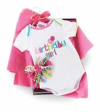 Mud Pie Birthday Girl Crawler Set 9-12 months Infant Cloths Baby Celebrate PARTY