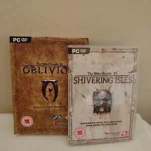 The Elder Scrolls IV Oblivion Collectors Edition (PC) + Shivering Isles exp pack