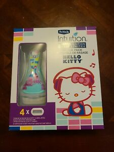 Schick Intuition limited édition Hello Kitty Razor Pack, NIB