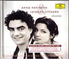 Anna NETREBKO & Rolando VILLAZON DUETS Delux CD+DVD Puccini Verdi Bizet LUISOTTI