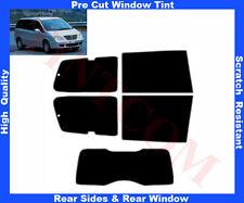Pre Cut Window Tint Lancia Phedra 5D 02-08 Rear Window & Rear Sides Any Shade