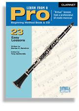 Santorella Learn From A Pro Clarinet Method Book w/ Cd