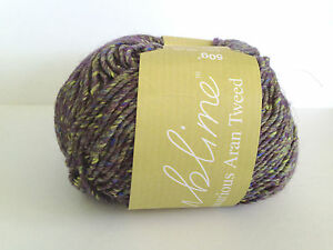 Sublime Luxurious Aran Tweed RRP £5.14 OUR PRICE £4.80  11 beautiful colours