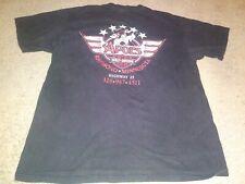 Vtg Harley Davidson Hog Eagle Biker Shirt L Men Rock Motorcycle 1997 90S