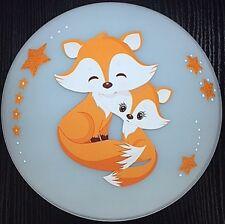Deckenlampe - FUCHS FOX orange - Deckenleuchte - Wandlampe - Kinderlampe