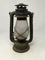 Antique Old Iron Kerosene Lantern by Sun Brand Oil Lantern Oil Lightning Lamp