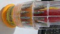 Juego destornillador con 31 puntas intercambiables