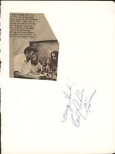 CARL LEE PERKINS - AUTOGRAPH SENTIMENT SIGNED 1971