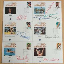 Olympiade 1984, Olympic Games - 18 Belege mit Autopen